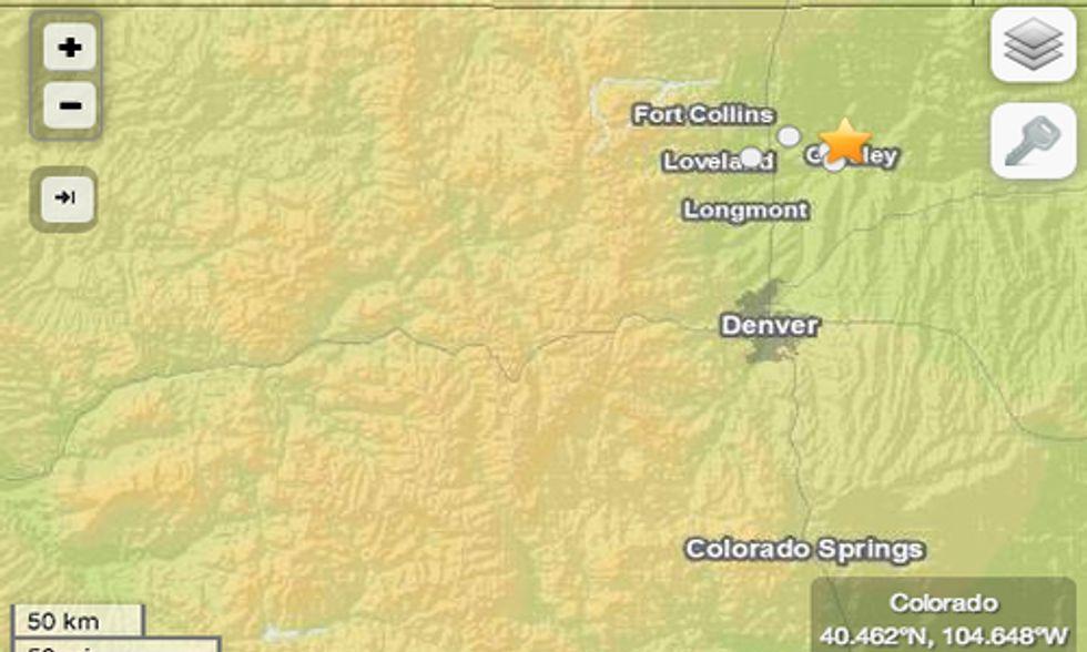 3.4-Magnitude Earthquake Strikes Colorado Less Than 2 Miles From Fracking Site