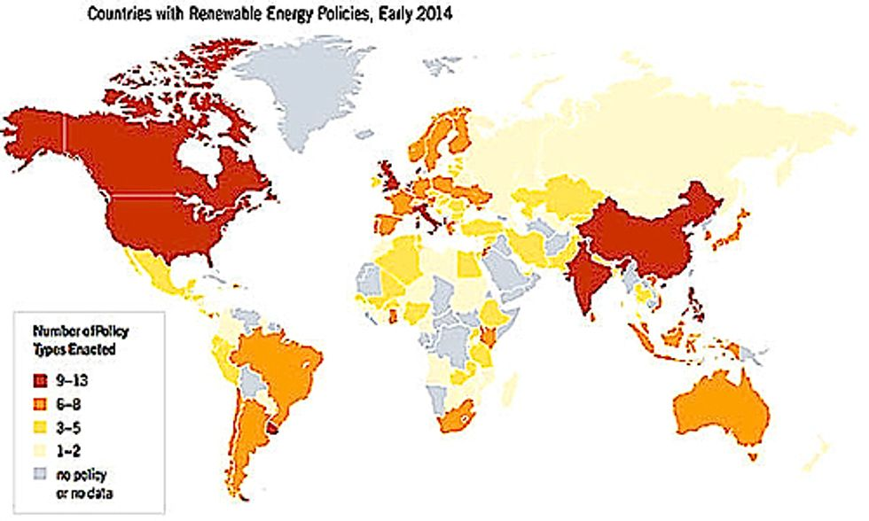 Developing Countries Lead Global Surge in Renewable Energy Capacity