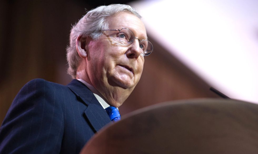 Mitch McConnell's Pro-Coal Response Bill to Obama's Carbon Plan Struck Down