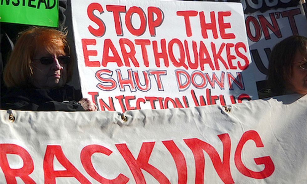 Regulators Ignore Fracking Earthquakes, Protect Big Oil Profits Over People