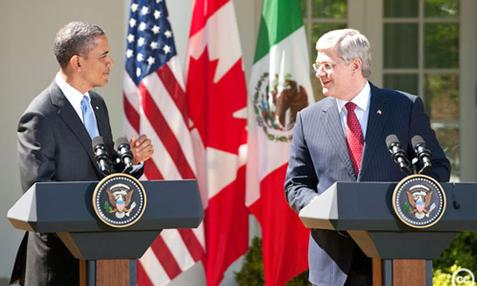 U.S. Announces Ambitious Carbon Cutting Plan While Canada Confirms It Will Do Nothing