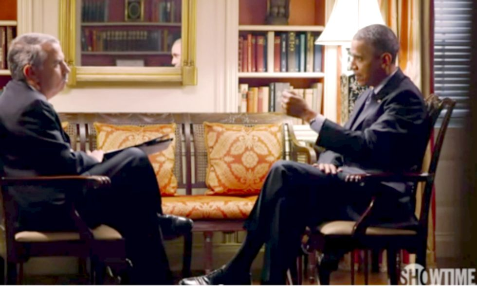 Why Obama 'Absolutely' Wants to Go Off on Climate Deniers