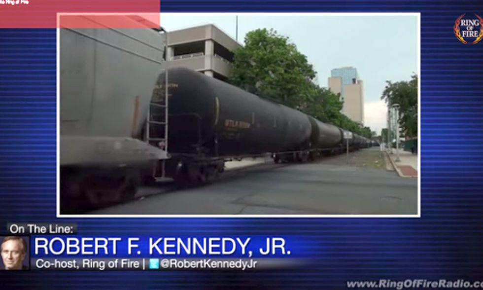 RFK, Jr. Attacks Our Oil Train Craze on Ring of Fire Radio