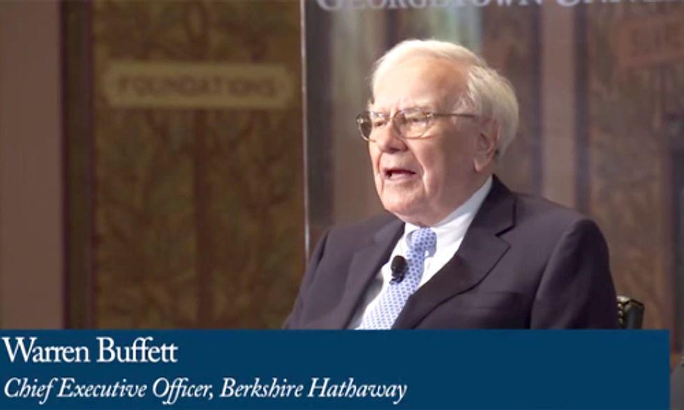 Warren Buffett Ready to Increase Renewable Energy Investment to $30 Billion