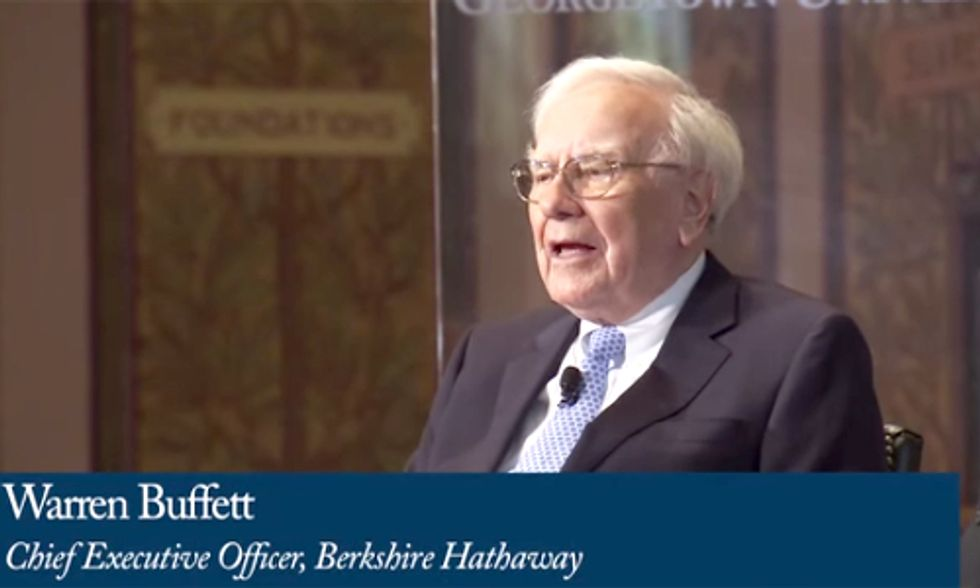Warren Buffett Ready to Increase Renewable Energy Investment to $30 Billion