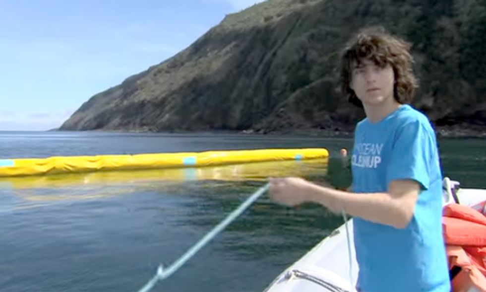 Meet the 19-Year-Old With a 10-Year Plan to Clean Half the Pacific Ocean