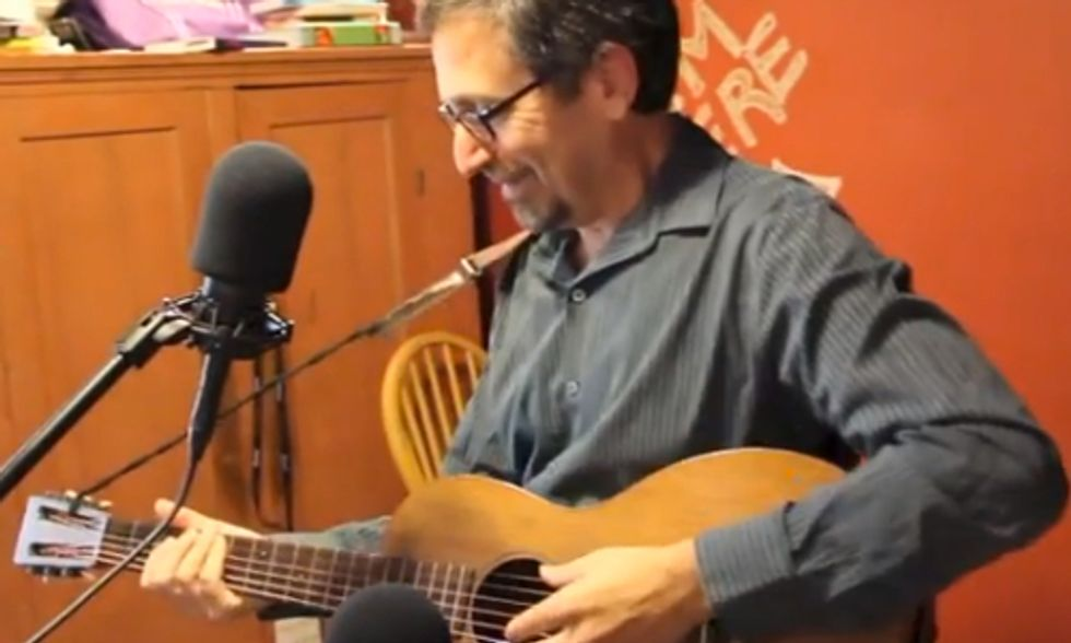 Andrew Revkin Promotes Environmental Understanding (And Plays a Mean Guitar)