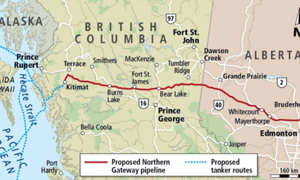Northern Gateway Pipeline Approved Ignoring Democracy and Global Warming
