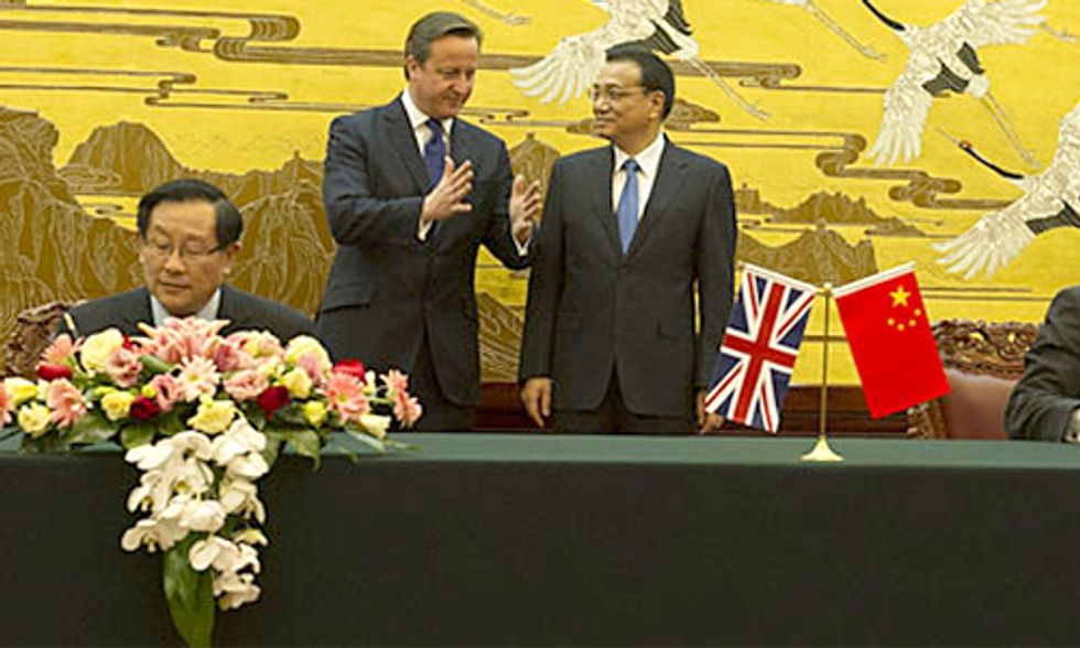 China and UK Join Forces on Climate Change Agreement