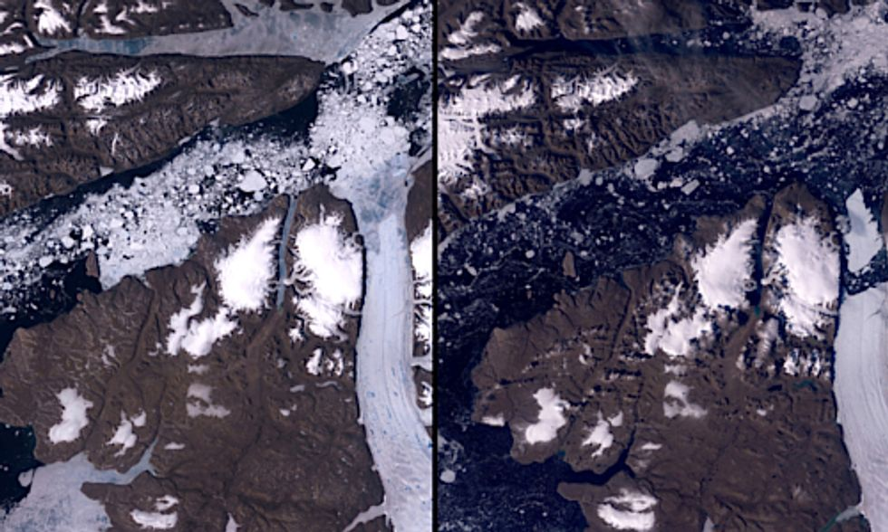 Seeing Climate Change From Space: NASA Creates Image-Based iPad App