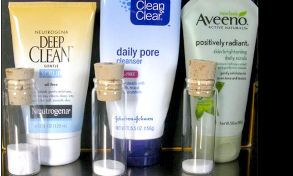New Jersey Congressman Proposes Federal Microbead Ban