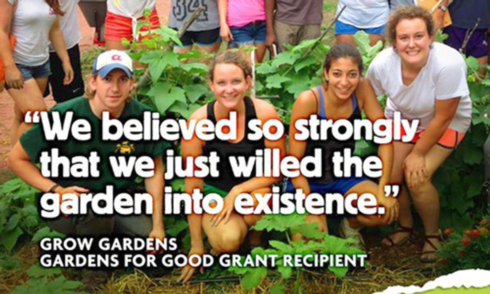Feed Your Community With a $15,000 Gardens for Good Grant—Apply Now!