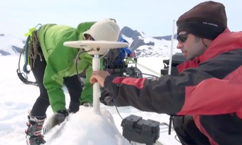 Watch Climate Scientists Explore Melting Alaskan Glaciers on 'Earth Focus'
