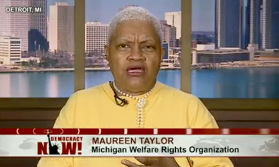 Activists Demand Answers About Detroit Water Shutoffs on 'Democracy Now!'
