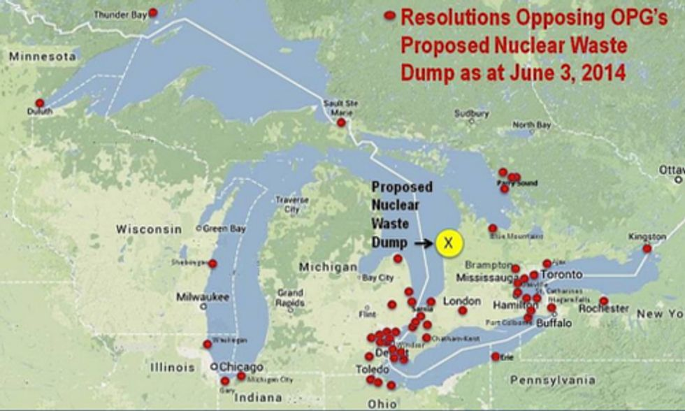 Great Lakes Communities Struggle in Fight Against Proposed Nuclear Waste Facility