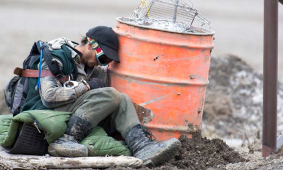 Activist Convicted of Blockading Yellowstone's Wild Bison Trap