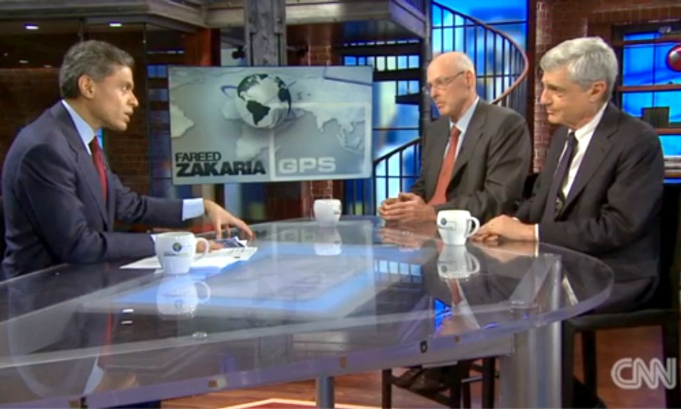 Former U.S. Treasury Secretaries Assess Catastrophic Cost of Climate Inaction With CNN's Fareed Zakaria
