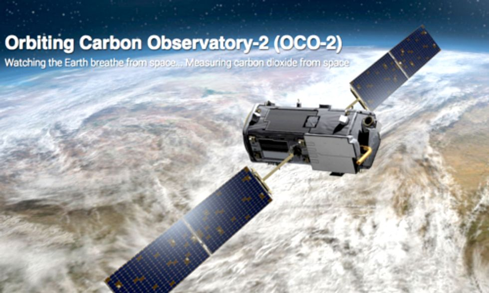 Carbon-Measuring NASA Satellite to Take Orbit This Week