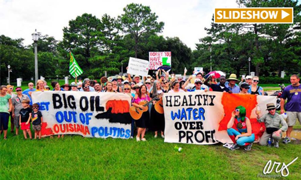 155-Mile March Protests Oil and Gas Industries Threat to Drinking Water