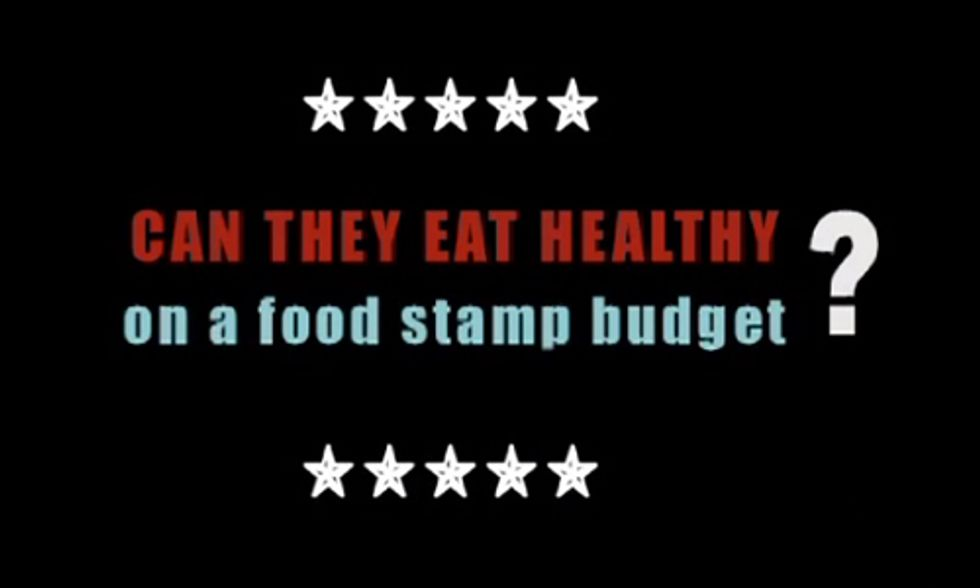 Couple's Quest to Eat Healthy on a Food Stamp Budget