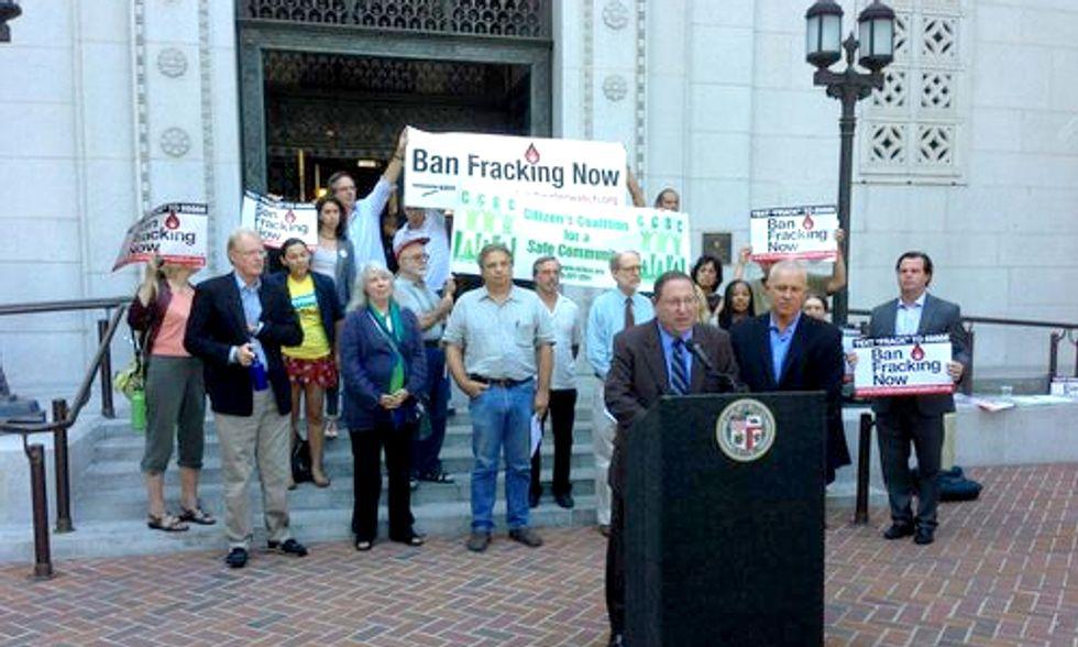 Los Angeles City Councilman Presents Aggressive Greenhouse Gas Proposal