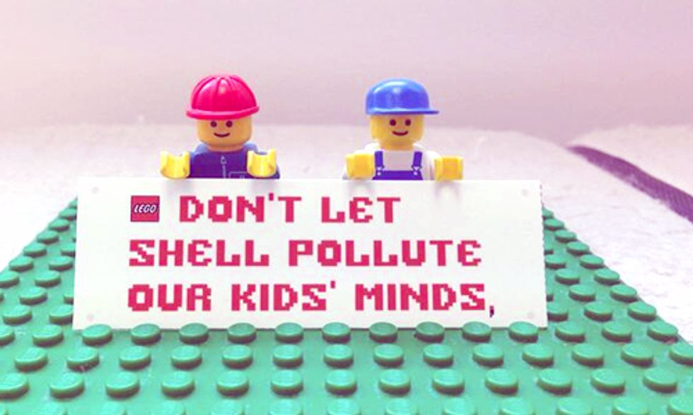 Greenpeace Urges LEGO to End Shell Partnership and Save the Arctic