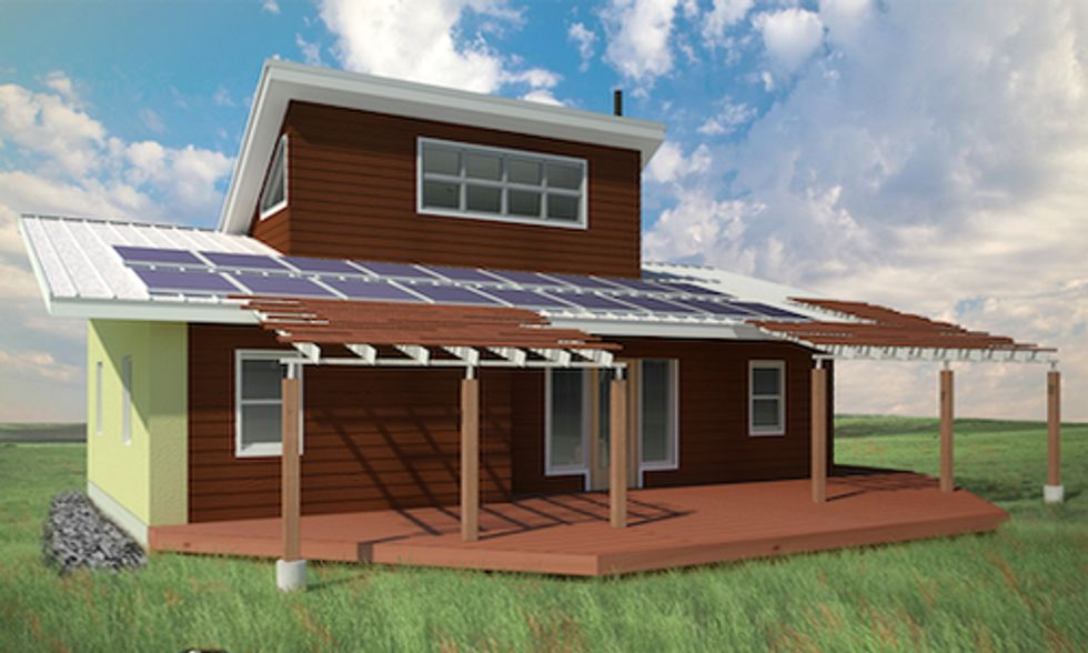 Find Out Which Celebrity Is Building Solar-Powered Homes for Native Americans