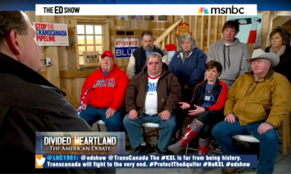 MSNBC Shows How Keystone XL Indecision Continues Dividing Communities in Montana, Nebraska and South Dakota