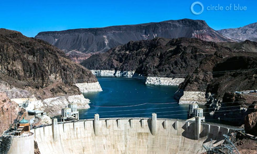 America's Largest Reservoir Drains to Record Low As Western Drought Deepens