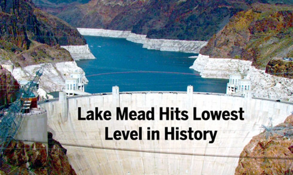 Drought Drains Lake Mead to Lowest Level as Nevada Senator Calls for Government Audit