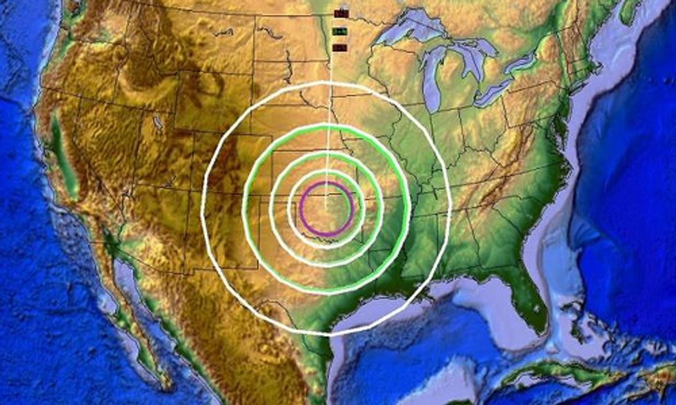 Fracking Wastewater Injection Wells Blamed for Oklahoma's Recent String of Earthquakes