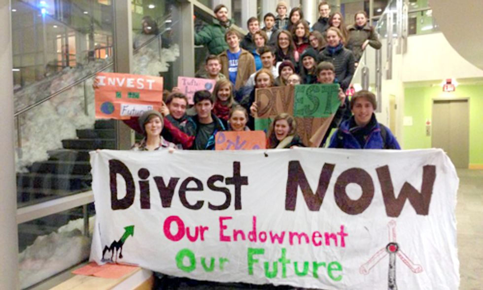Barriers to Fossil Fuel Divestment at Tufts University