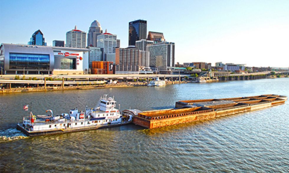 Company Seeks Barge Dock Permit for Shipping Fracking Wastewater
