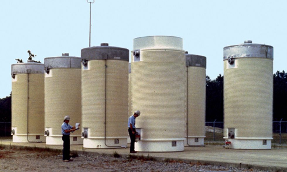 Storage of Radioactive Spent Fuel Rods Still Haunts Nuclear Industry