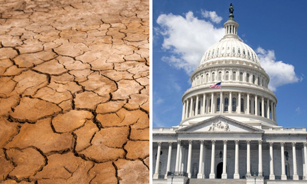 Red States Way Ahead of Congress on Global Warming