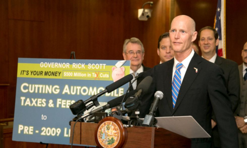10 Scientists Want to Educate Florida Gov. Rick Scott on Climate Change