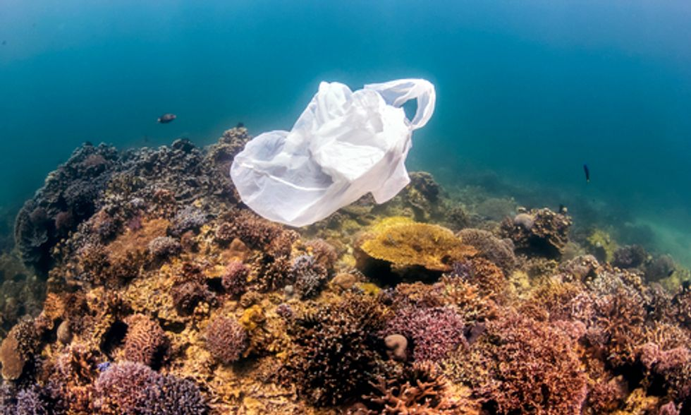 First-of-its-Kind Map Details Extent of Plastic in Five Ocean Gyres