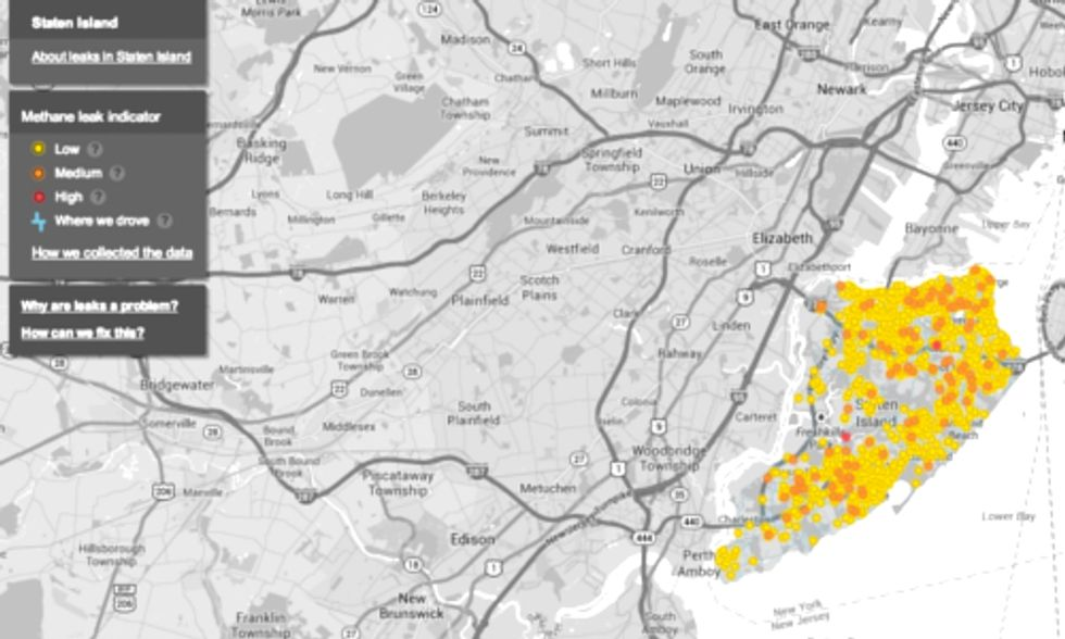 Google and EDF Partner to Map Natural Gas Leaks