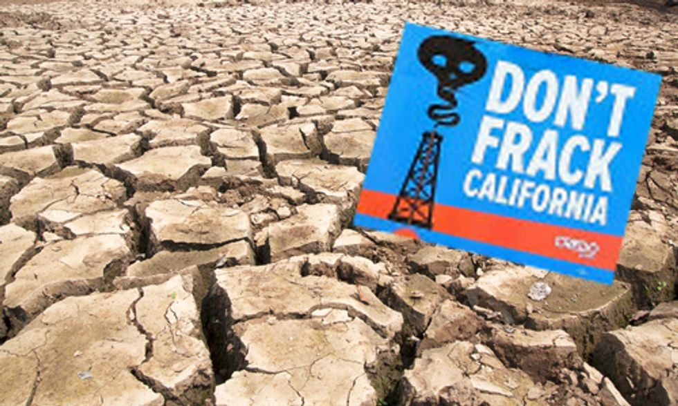 Extreme Drought in CA Triggers Halting of Fracking Waste Injection to Avoid Aquifer Contamination