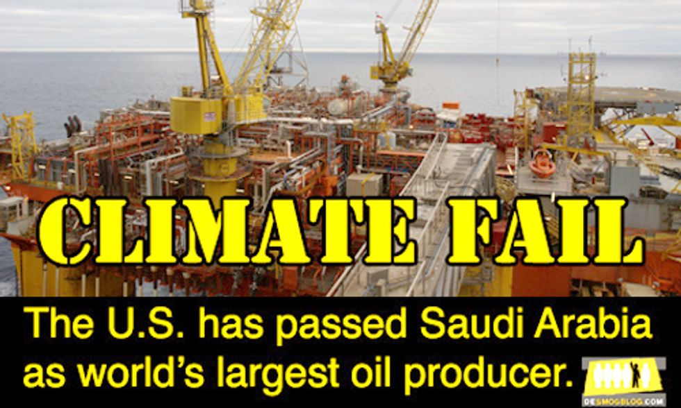 U.S. Becomes Biggest Oil Producer After Overtaking Saudi Arabia