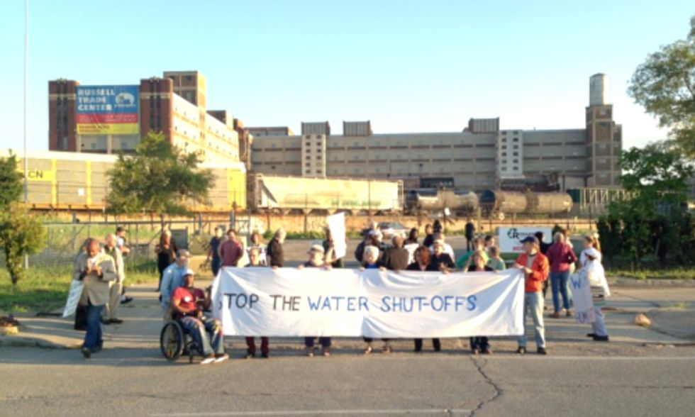 Detroit Stops Water Shutoffs For 15 Days