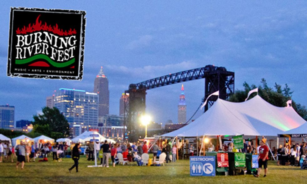 Burning River Fest Celebrates Vitality of Great Lakes Region