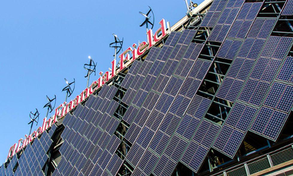 Pro Sports Teams Go Solar