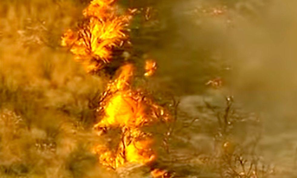 Obama Attributes Washington State Wildfires to Climate Change