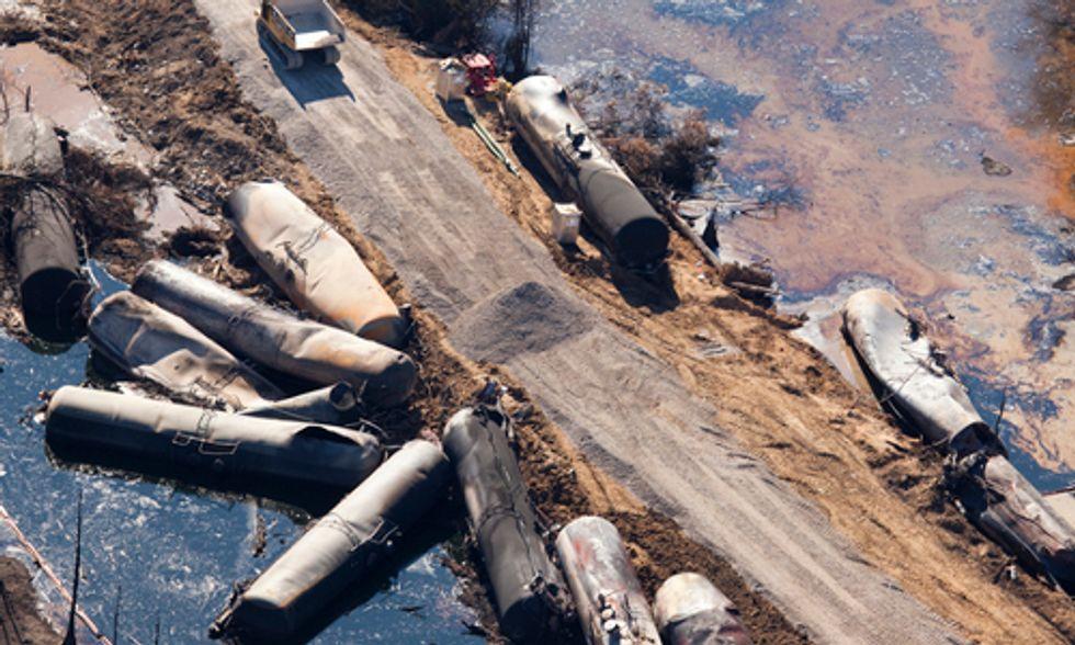 Crude Awakening From Fossil Fuel Transport