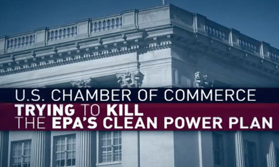 New Ad Campaign Blasts U.S. Chamber's 'Desperate' Attempts to Kill Clean Power Plan