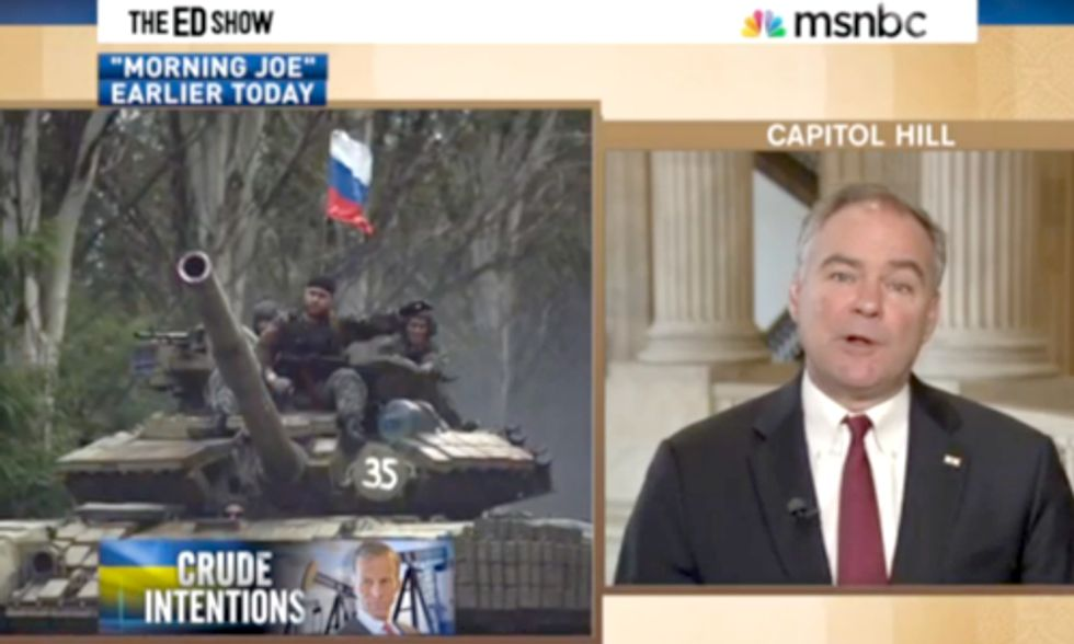 MSNBC Shows How Congress Members Use Ukraine Crisis as an Excuse to Push For More Oil Drilling