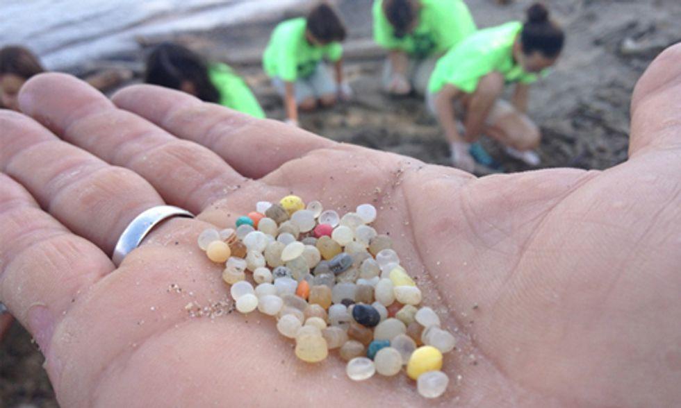 Plastic Pellets Pollute Lake Erie