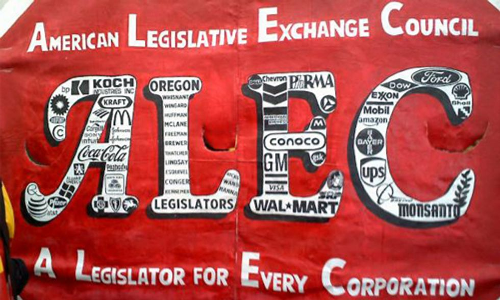ALEC Continues Attack on Renewable Energy Policies to Keep America Addicted to Fossil Fuels