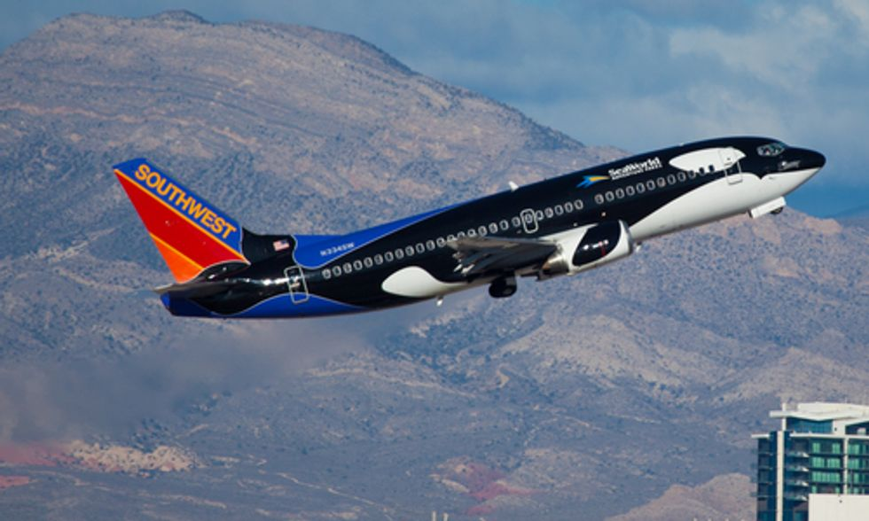 Southwest Airlines Ends Partnership With SeaWorld After 'Blackfish' Backlash